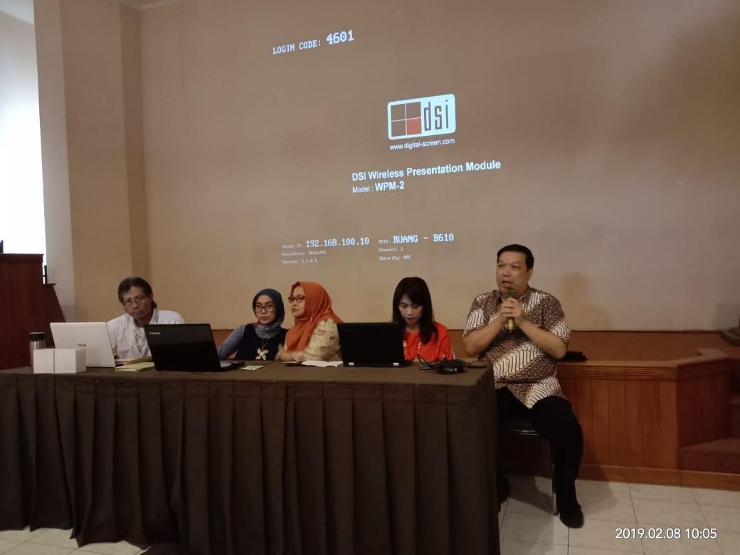 Rapat Pleno Fakultas Bahasa Semester Genap 1