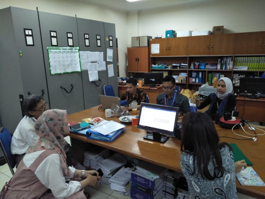 Rapat Proses Bisnis Dan Progres Report Pengumpulan Dokumen Borang Akreditasi Prodi S-1 Bahasa Jepang
