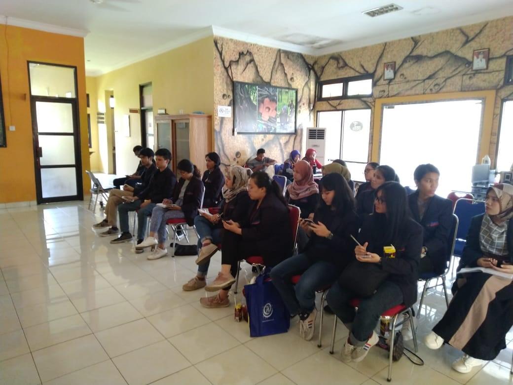 Kuliah Lapangan Ke Kantor Dinas Pariwisata Kabupaten Pangandaran 2