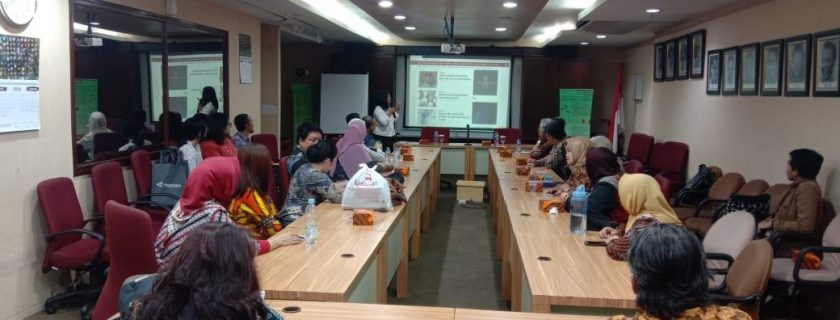 Dosen-Dosen Fakultas Bahasa melakukan Kunjungan Industri ke LKBN Antara Jakarta