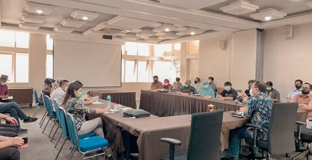 Fakultas Bahasa Hadir Dalam Rapat Bersama Wakil Rektor
